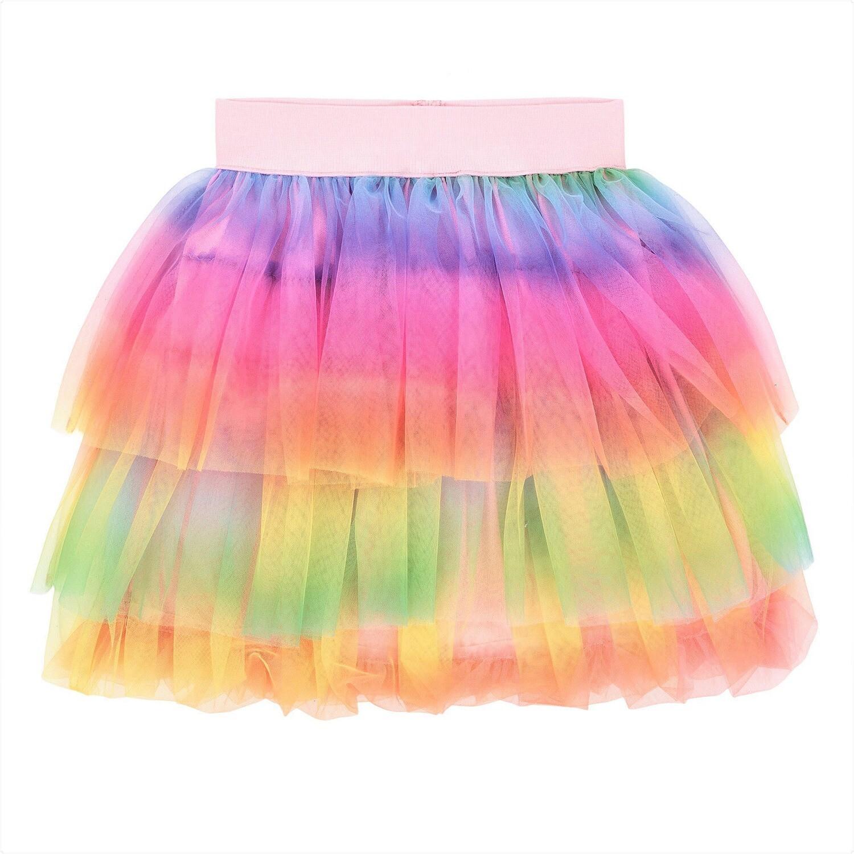 Deux Par Deux Rainbow Tutu Skirt
