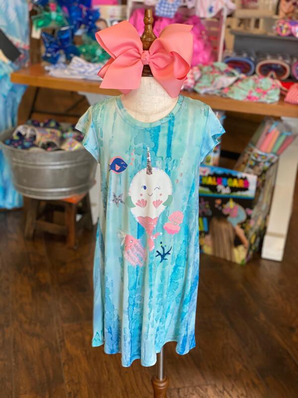 Haven Girl Narwhal Dress 80H854K