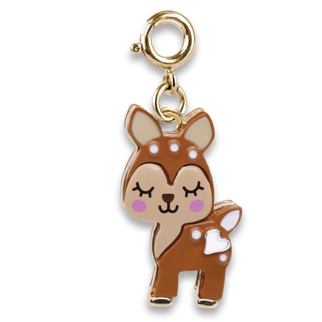 CHARM It Gold Fawn Charm CICC1379