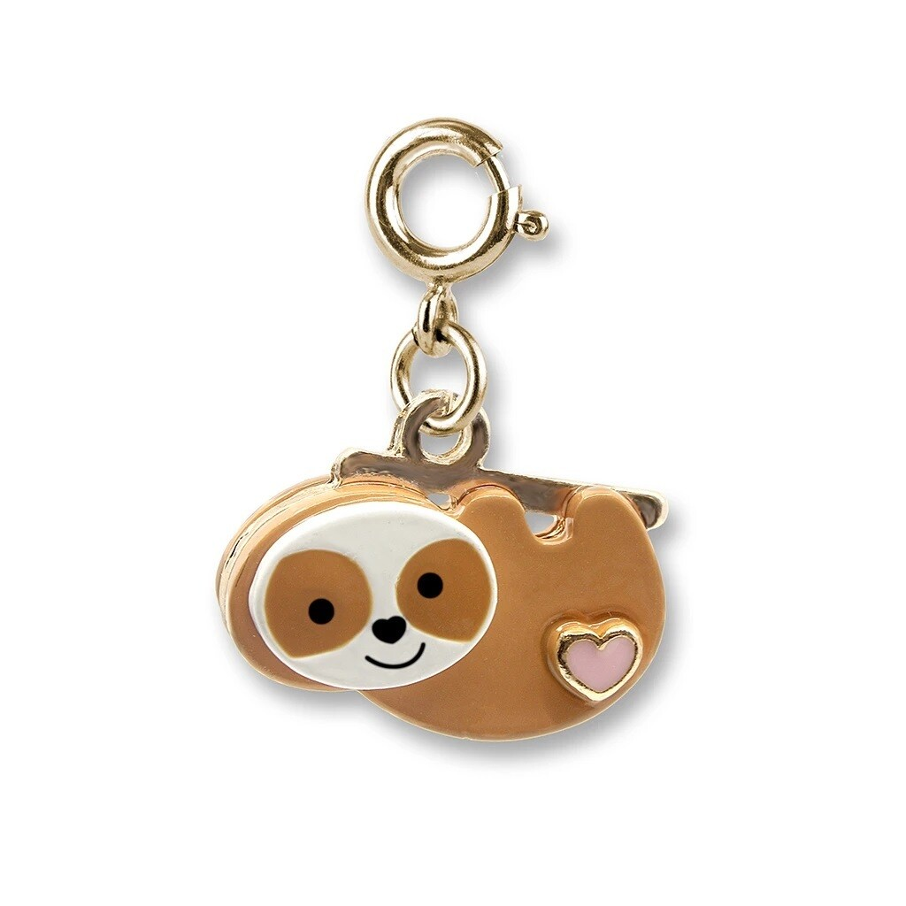 Charm It Gold Sloth Charm CICC1348