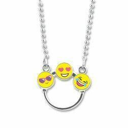 CHARM It EMOJI Catcher Necklace CIN502