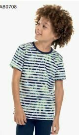 Quimby Palm Tee Navy