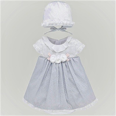 Mayoral Dress With Bonnet 1855