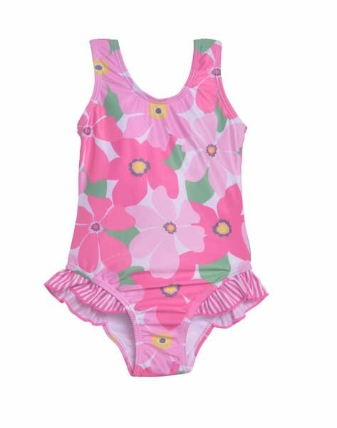 Flap Happy Wild Hibiscus Swimsuit