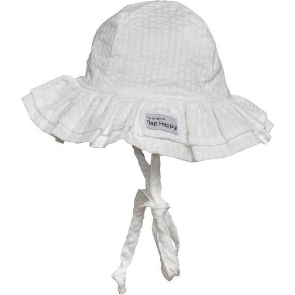 Flap Happy Double Ruffle Hat