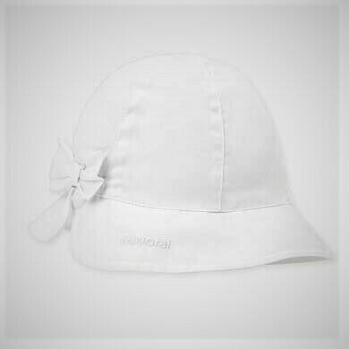 Mayoral Baby Girls Sun Hat White 10744