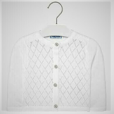 Mayoral Sweater White 1328