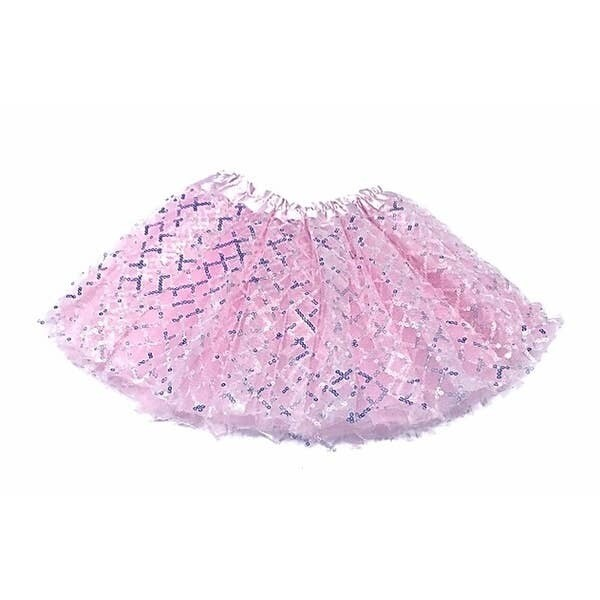 Sparkle Sisters Sequin TuTu Pink