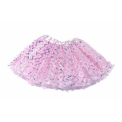 Sparkle Sisters Sequin TuTu Pink