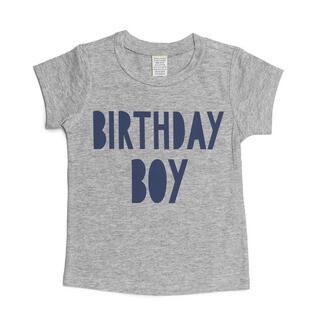 Sweet Wink Birthday Boy S/S Gray Shirt