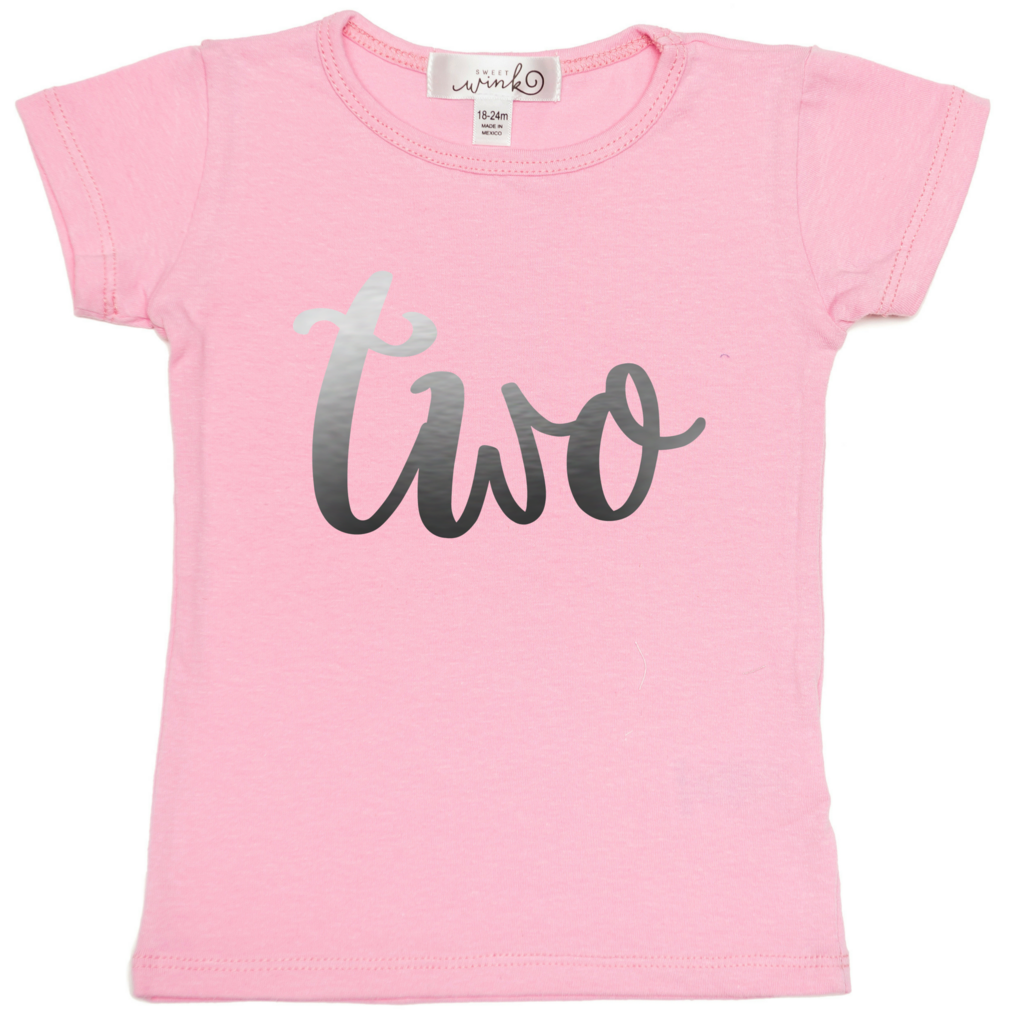 Sweet Wink Two (Girls) S/S Shirt