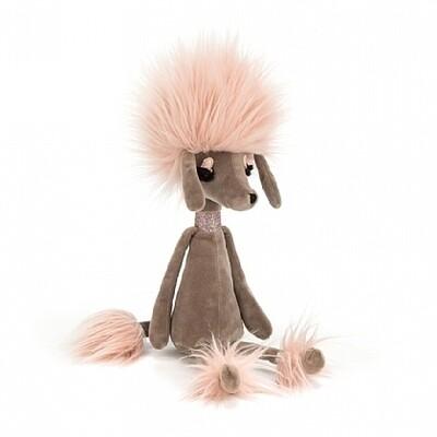 "JellyCat Swellegant Penelope Poodle Medium 13"""