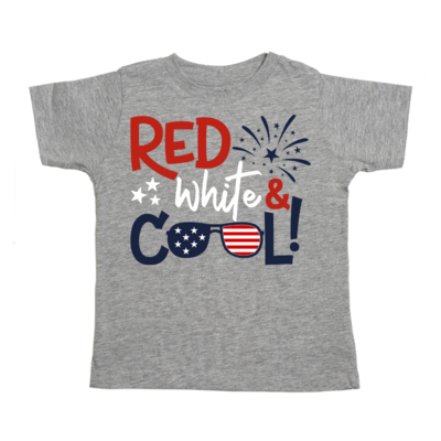 Sweet Wink Red White & Cool Tee