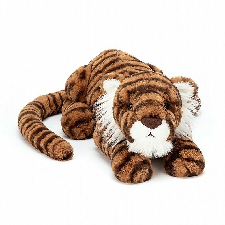 """JellyCat Tia Tiger Medium 19"""""""