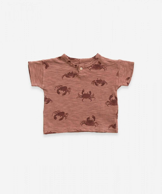 Play Up T-Shirt Crab 11056
