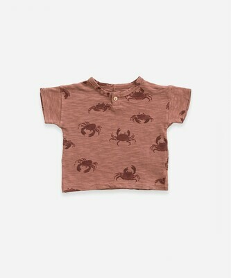 Play Up T-Shirt Crab 11056