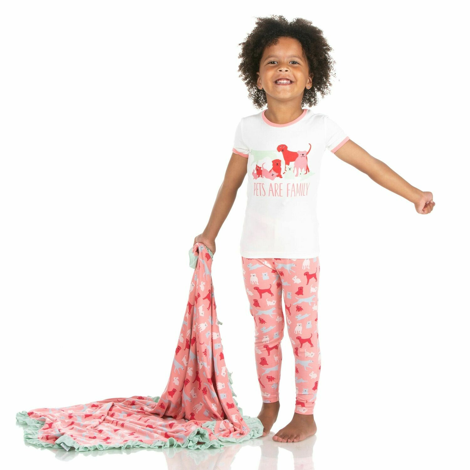 Kickee Zoology PJs 2 Pc Sets