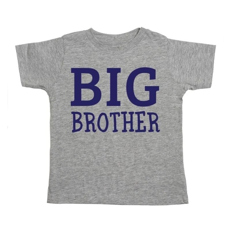 Sweet Wink Big Brother S/S Shirt - Gray