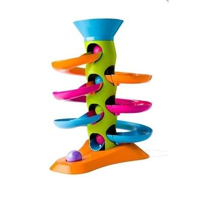 Fat Brain Toy Roll Again Tower