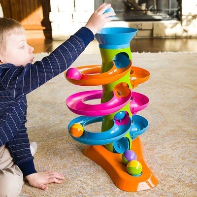 Fat Brain Toy Roll Again Tower