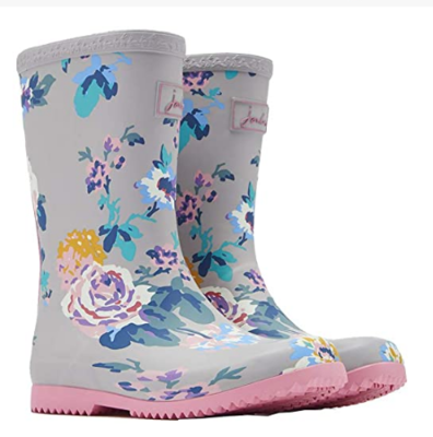Joules 204330 BOOTS Floral