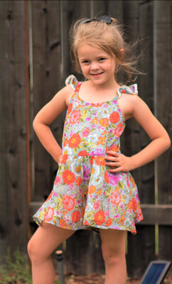 Mimi & Maggie Sunday Morning Romper 2579