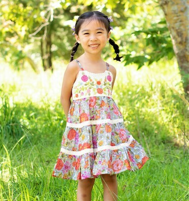Mimi & Maggie Shade Plants Dress 80478