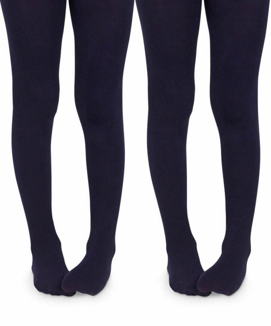 Jefferies Socks=NAVY COTTON TIGHT