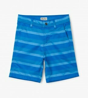 Hatley Blue Stripe Quick Dry Shorts 1393
