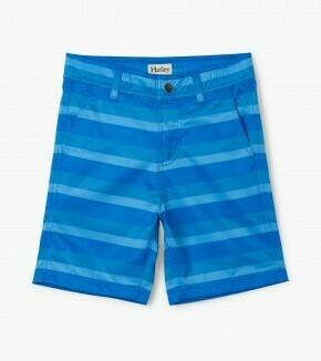 Hatley Blue Stripe Quick Dry Shorts 1393
