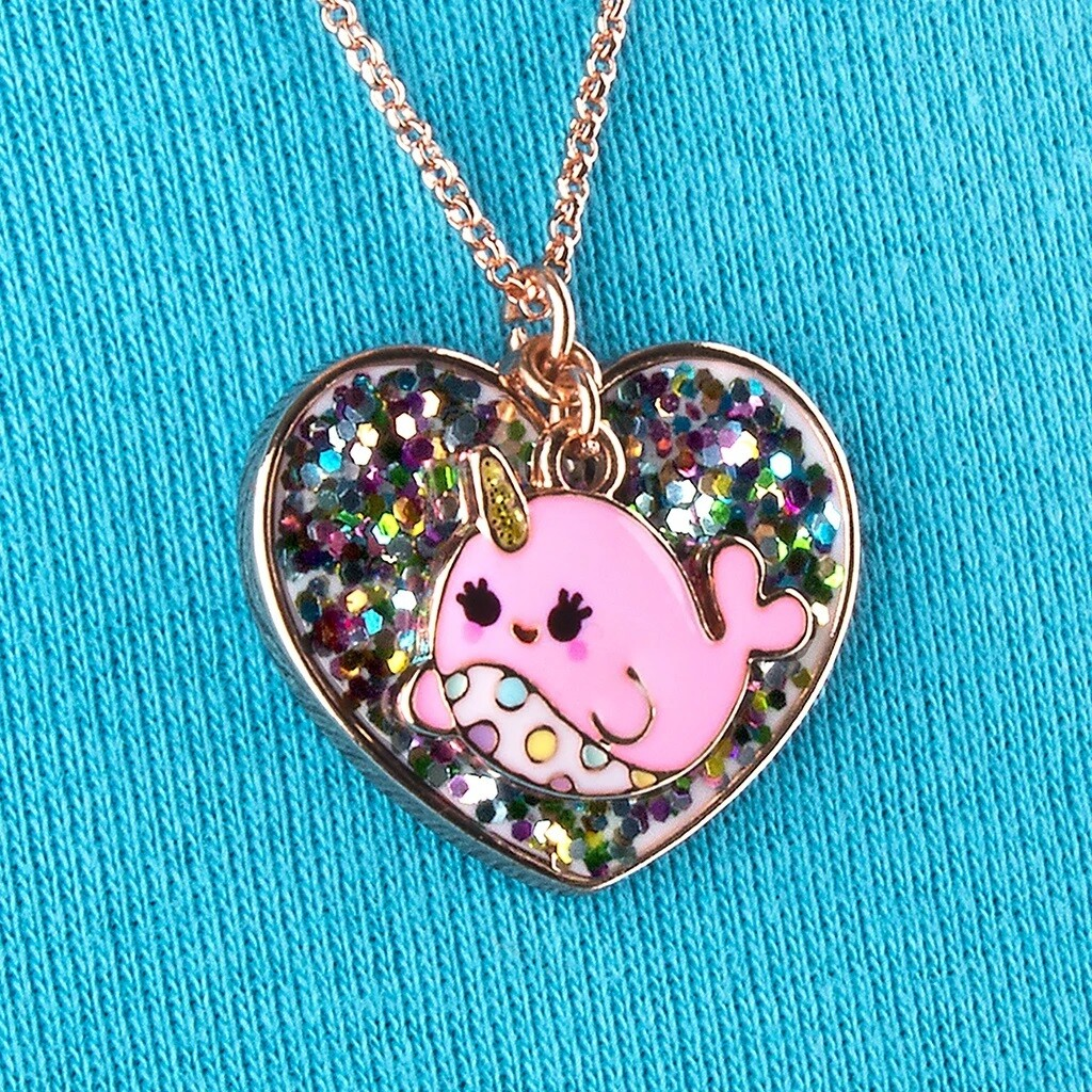 Charm It Narwhal Necklace CINC109