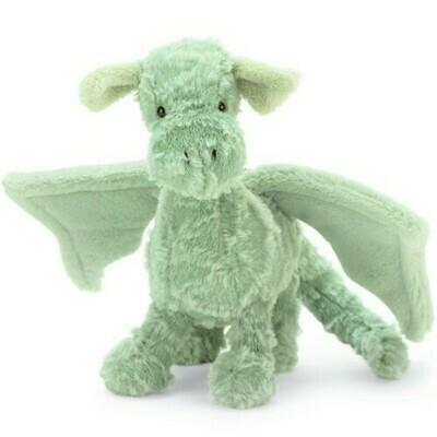 "Jellycat Drake Dragon Little 10"""