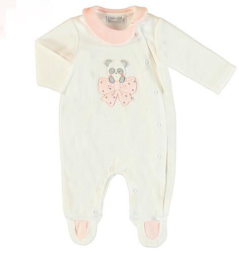 Mayoral White Panda Soft Pajama 2752