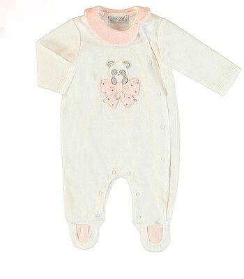 Mayoral White Panda Soft Pajama 2752