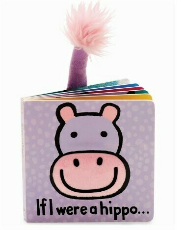 If I Were A Hippo Book (Jellycat