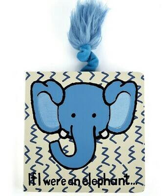 If I Were An Elephant Book (Jellycat