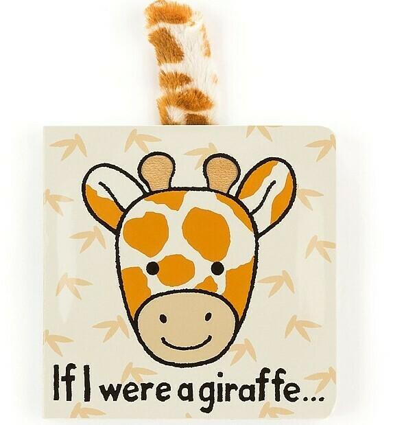 If I Were A Giraffe Book (Jellycat