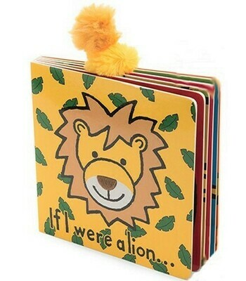 If I Were A Lion Book (Jellycat