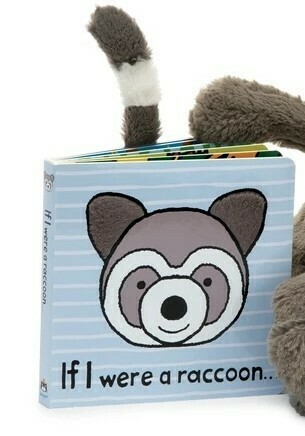 If I Were A Raccoon Book (Jellycat