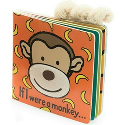 If I Were A Monkey Book (Jellycat