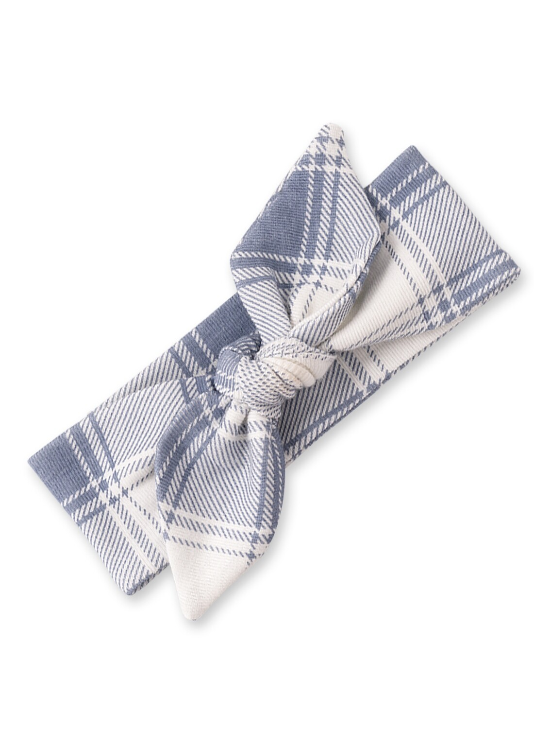 Tesa Babe Blue Plaid Headband 59BP