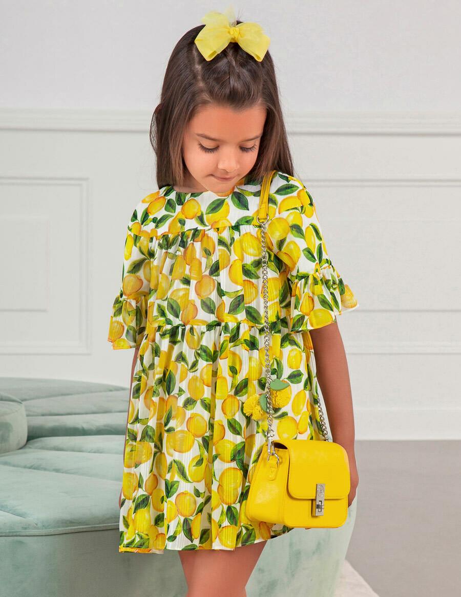 Abel & Lulu Lemon Dress 5036