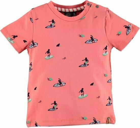 Babyface Boys Shirt PAPAYA=107651