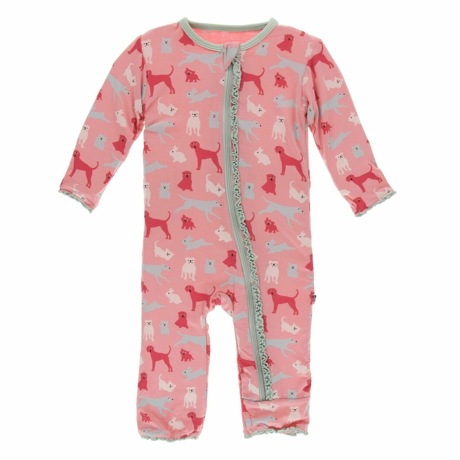 Kickee Zoology Coverall Strawberry Domestic Animal