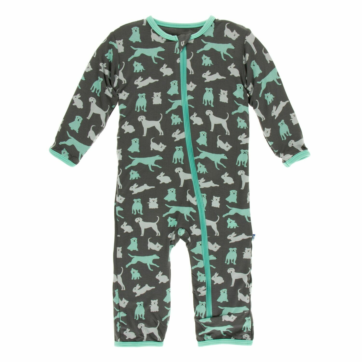 Kickee Zoology Coverall Stone Domestic Animals