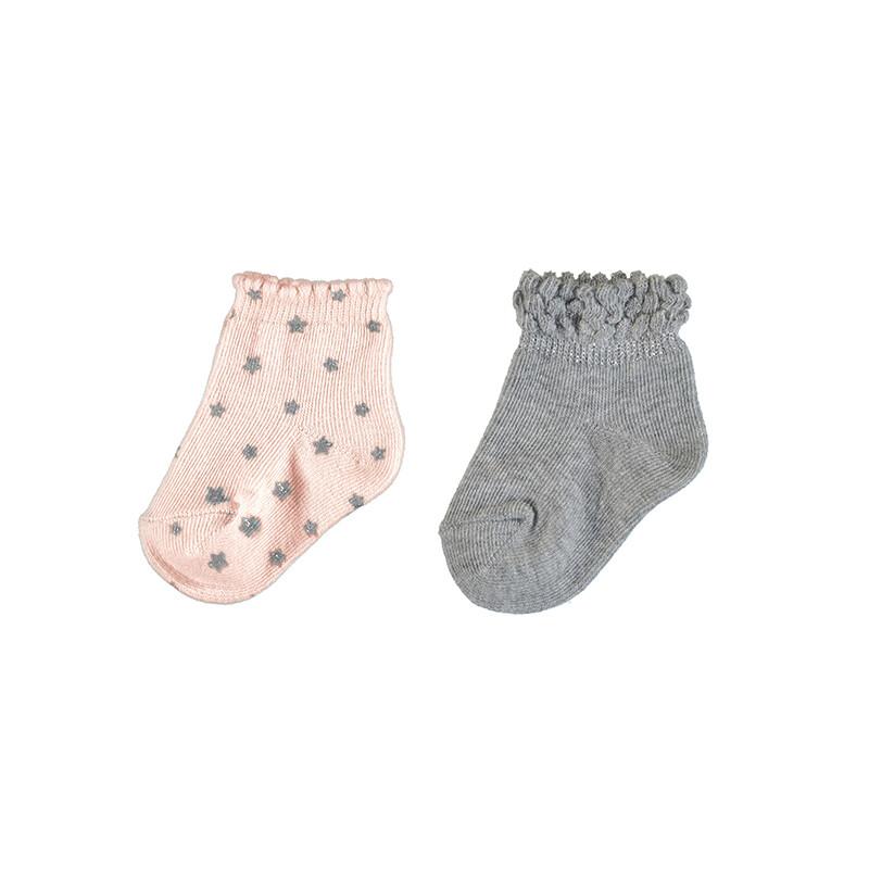 Mayoral 2 Socks Sets Rose 9307