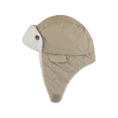 Mayoral Microfibre Hazelnut Hat 9321
