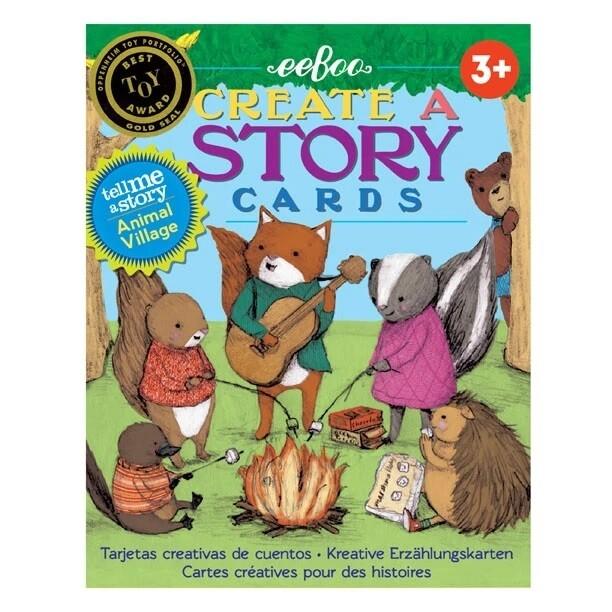 eeBoo Animal Village Create a Story (cards