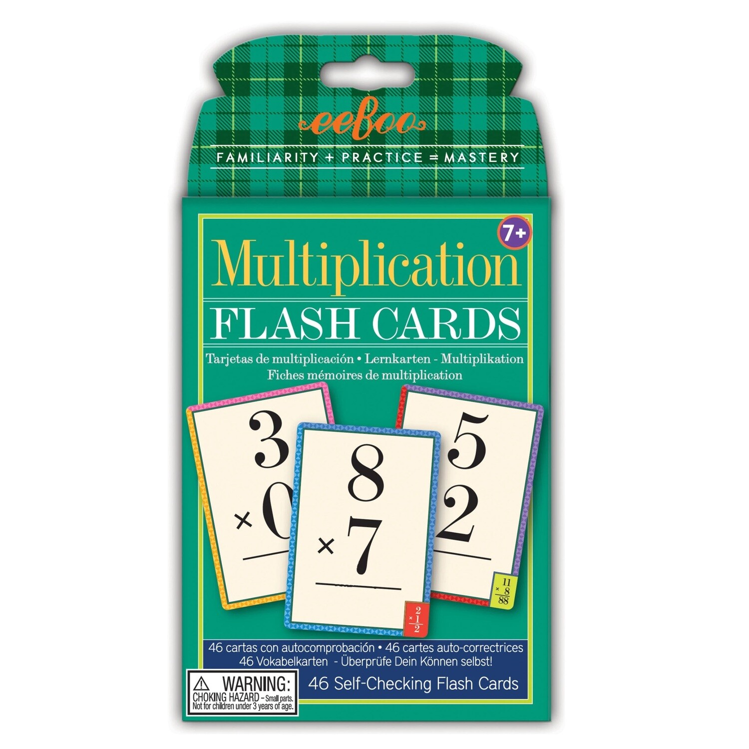 eeBoo Multiplication Flash Cards