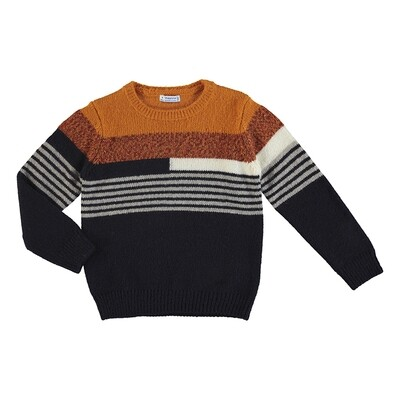 Mayoral Stripped Sweater 4328